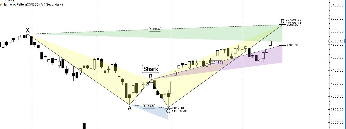 8100 shark pattern